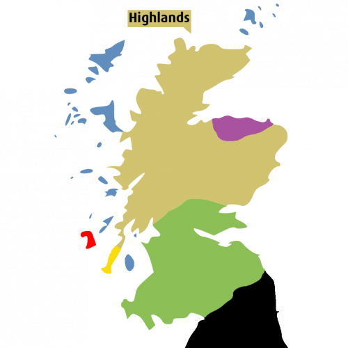 Scotch Regions Highlands - Fadandel.dk
