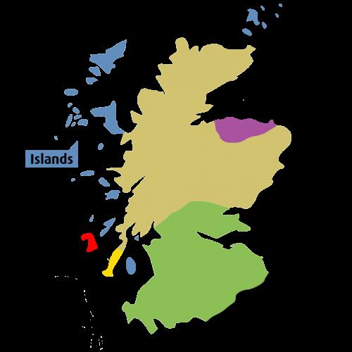 Scotch Regions Islands - Fadandel.dk