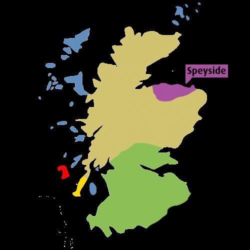 Scotch regions - Speyside - Fadandel.dk