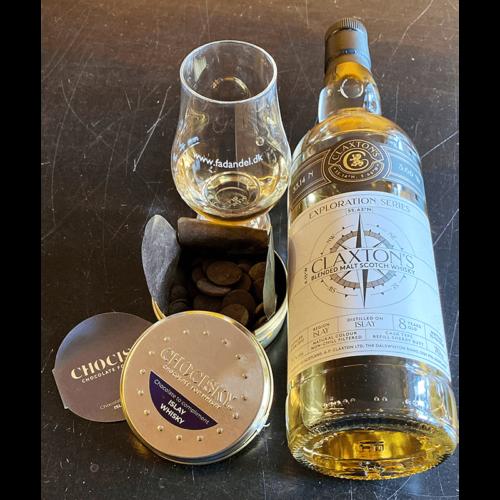8 års Islay whisky & Chocisky Islay Whisky Chokolade