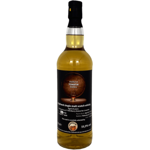 Tomatin 10Y 2nd Fill Sherry 59.9%