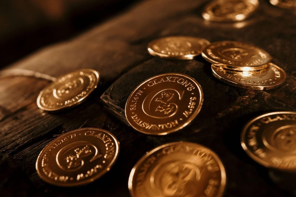 Collect coins from Claxton's