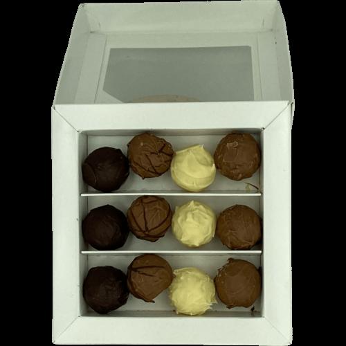 Chokolade med Single Malt Whisky - åben